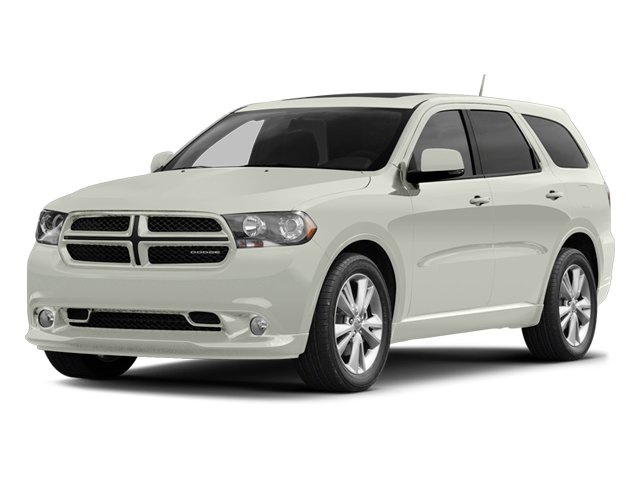 Bright White 2013 Dodge Durango Pictures Durango Utility 4D R/T AWD photos front view