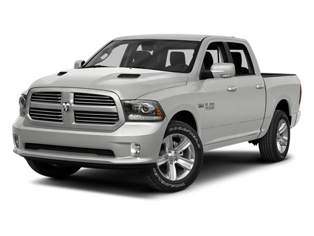 Bright Silver Metallic 2013 Ram Truck 1500 Pictures 1500 Crew Cab SLT 4WD photos front view