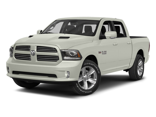 Bright White 2013 Ram Truck 1500 Pictures 1500 Crew Cab SLT 4WD photos front view
