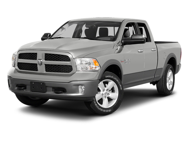 Bright Silver Metallic 2013 Ram Truck 1500 Pictures 1500 Quad Cab Outdoorsman 2WD photos front view