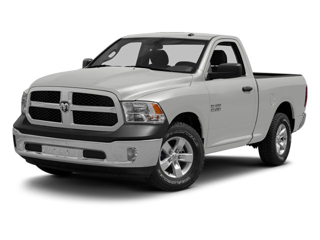 Bright Silver Metallic 2013 Ram Truck 1500 Pictures 1500 Regular Cab Express 2WD photos front view
