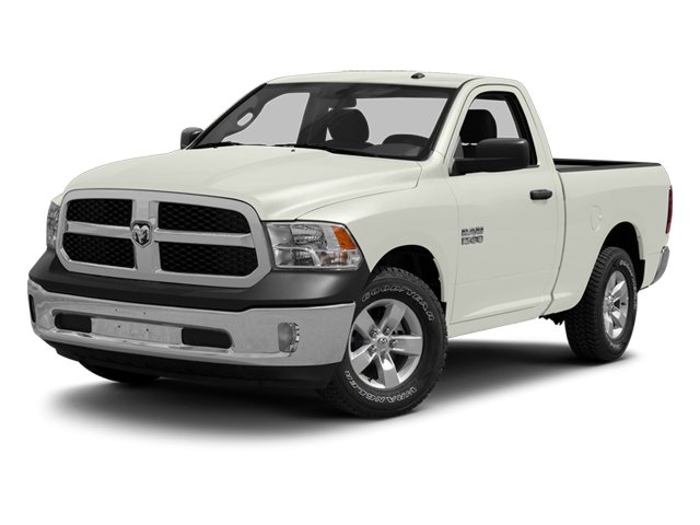 Bright White 2013 Ram Truck 1500 Pictures 1500 Regular Cab SLT 4WD photos front view