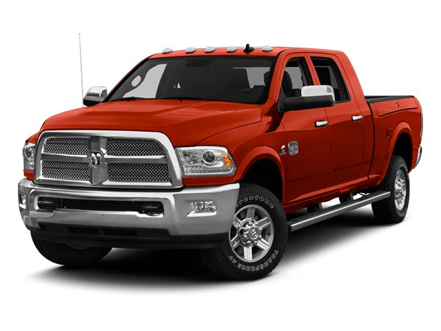 Case IH Red 2013 Ram Truck 2500 Pictures 2500 Mega Cab SLT 2WD photos front view