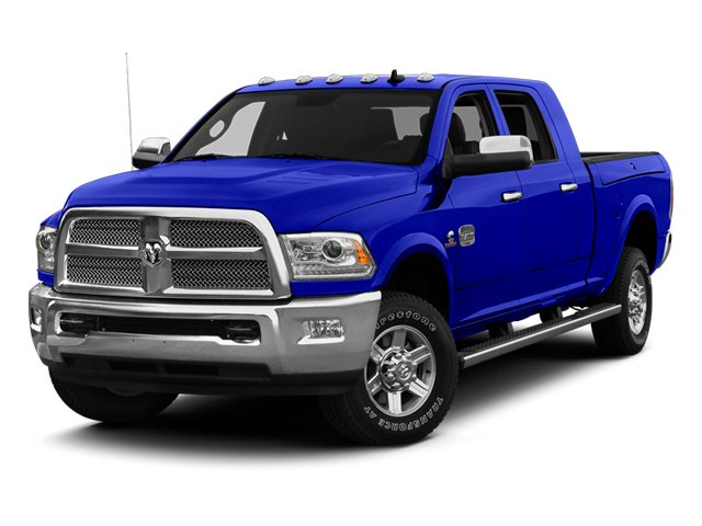 New Holland Blue 2013 Ram Truck 2500 Pictures 2500 Mega Cab SLT 2WD photos front view