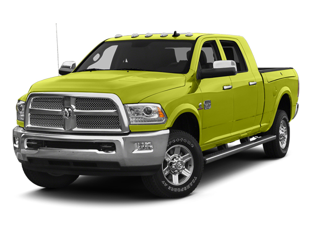 National Fire Safety Lime Yellow 2013 Ram Truck 2500 Pictures 2500 Mega Cab SLT 2WD photos front view