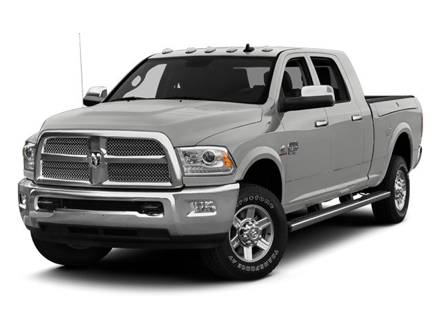 Bright Silver Metallic 2013 Ram Truck 2500 Pictures 2500 Mega Cab Limited 4WD photos front view