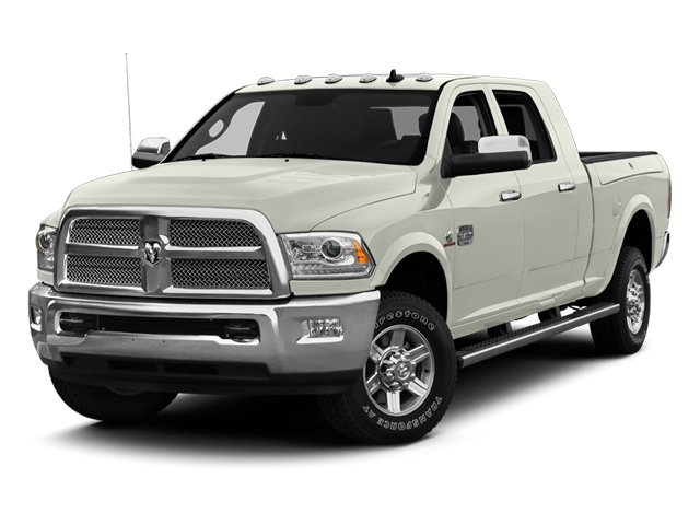 Bright White 2013 Ram Truck 2500 Pictures 2500 Mega Cab Limited 4WD photos front view