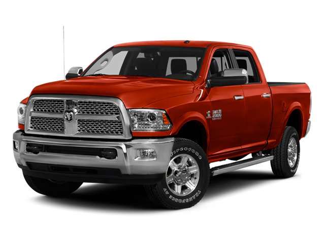 Case IH Red 2013 Ram Truck 2500 Pictures 2500 Crew Cab SLT 4WD photos front view