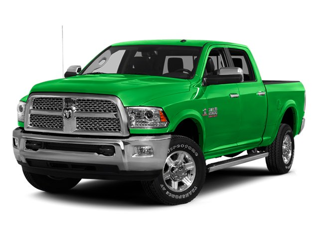 Bright Green 2013 Ram Truck 2500 Pictures 2500 Crew Cab SLT 4WD photos front view