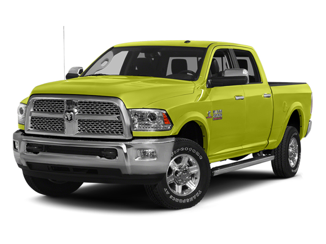 National Fire Safety Lime Yellow 2013 Ram Truck 2500 Pictures 2500 Crew Cab SLT 4WD photos front view