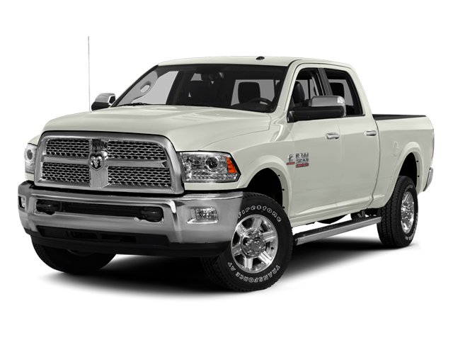 Bright White 2013 Ram Truck 2500 Pictures 2500 Crew Cab Laramie 4WD photos front view