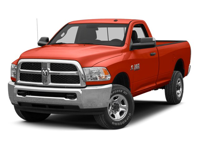 Case IH Red 2013 Ram Truck 2500 Pictures 2500 Regular Cab SLT 4WD photos front view