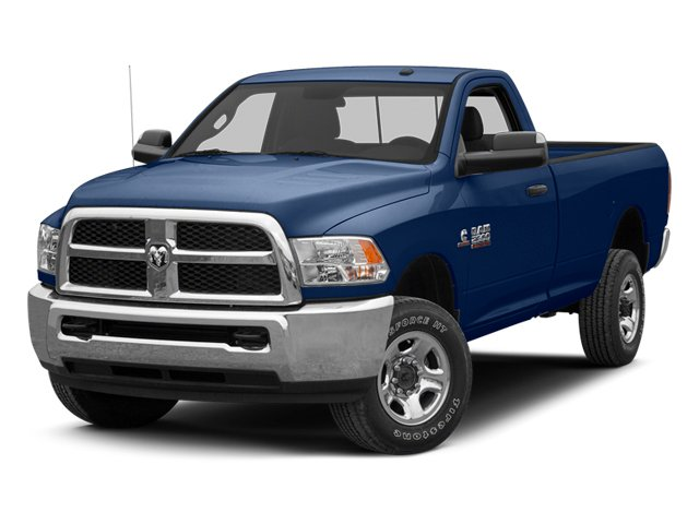 True Blue Pearl 2013 Ram Truck 2500 Pictures 2500 Regular Cab SLT 4WD photos front view