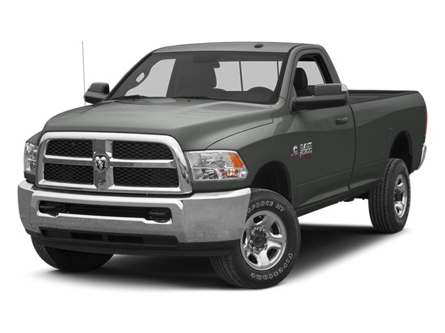 Mineral Gray Metallic 2013 Ram Truck 3500 Pictures 3500 Regular Cab SLT 2WD photos front view