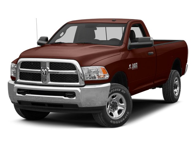 Western Brown 2013 Ram Truck 3500 Pictures 3500 Regular Cab SLT 2WD photos front view