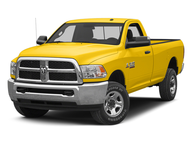 School Bus Yellow 2013 Ram Truck 2500 Pictures 2500 Regular Cab SLT 4WD photos front view