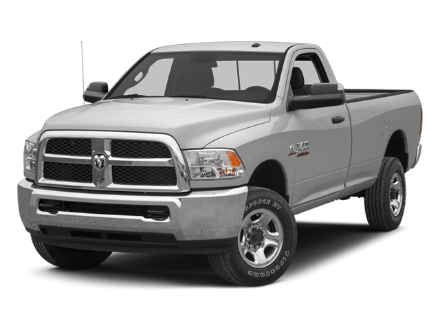 Bright Silver Metallic 2013 Ram Truck 3500 Pictures 3500 Regular Cab SLT 2WD photos front view