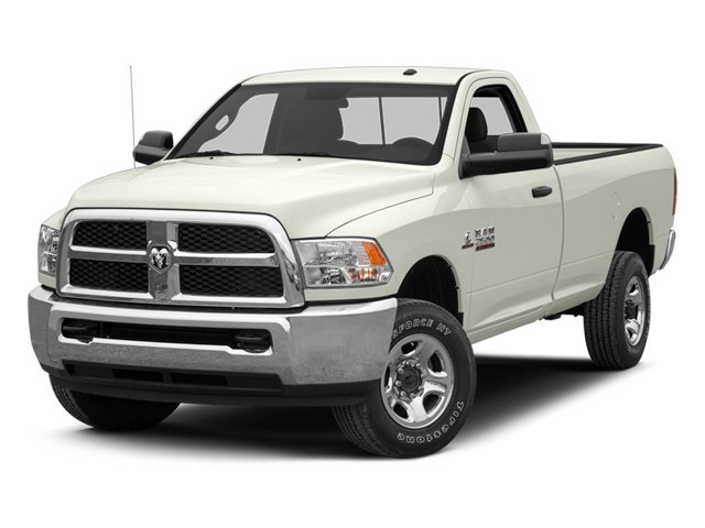Bright White 2013 Ram Truck 3500 Pictures 3500 Regular Cab SLT 2WD photos front view