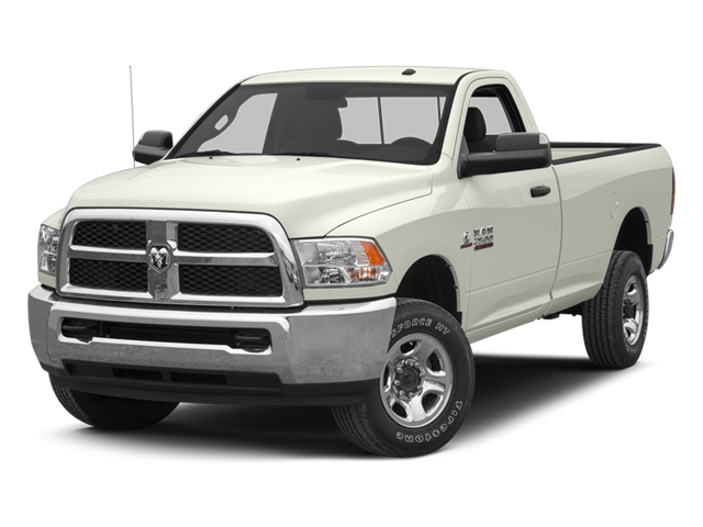 Bright White 2013 Ram Truck 2500 Pictures 2500 Regular Cab SLT 4WD photos front view