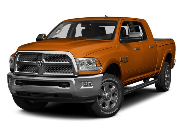 Omaha Orange 2013 Ram Truck 3500 Pictures 3500 Mega Cab SLT 4WD photos front view