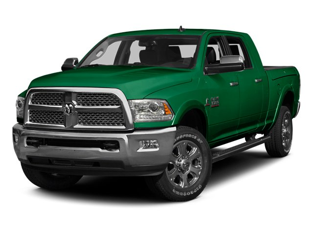 Bright Green 2013 Ram Truck 3500 Pictures 3500 Mega Cab SLT 2WD photos front view