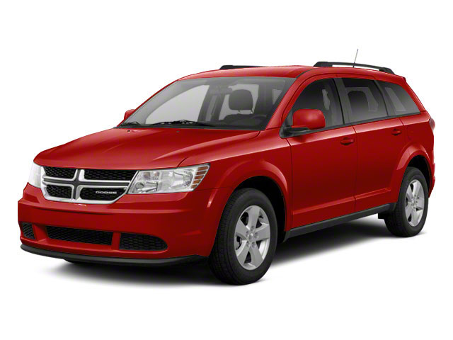 Bright Red 2013 Dodge Journey Pictures Journey Utility 4D Crew AWD photos front view