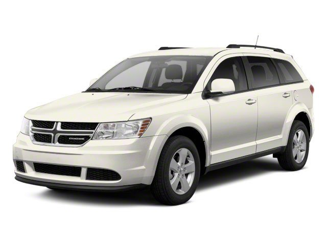 Pearl White Tri-coat 2013 Dodge Journey Pictures Journey Utility 4D Crew AWD photos front view