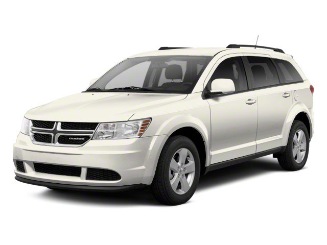 Pearl White Tri-coat 2013 Dodge Journey Pictures Journey Utility 4D SXT AWD photos front view