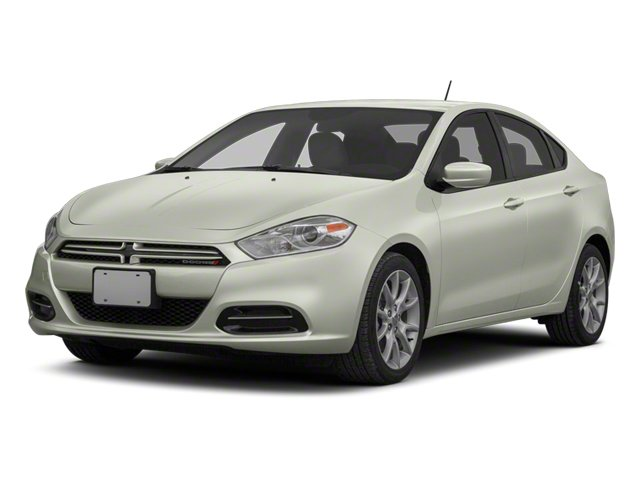 Bright White 2013 Dodge Dart Pictures Dart Sedan 4D GT I4 photos front view