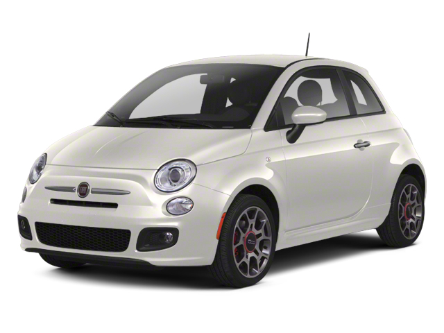 Bianco (White) 2013 FIAT 500 Pictures 500 Hatchback 3D Pop I4 photos front view