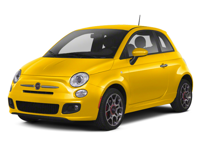 Giallo (Yellow) 2013 FIAT 500 Pictures 500 Hatchback 3D Pop I4 photos front view