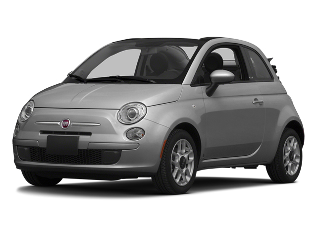 Grigio (Gray) 2013 FIAT 500 Pictures 500 Convertible 2D Pop I4 photos front view