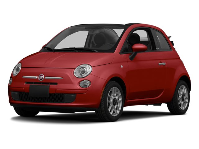 Rosso (Red) 2013 FIAT 500 Pictures 500 Convertible 2D Pop I4 photos front view