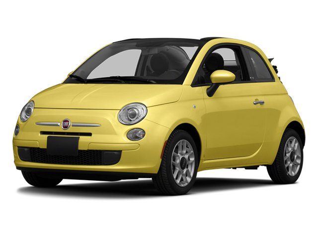 Giallo (Yellow) 2013 FIAT 500 Pictures 500 Convertible 2D Pop I4 photos front view