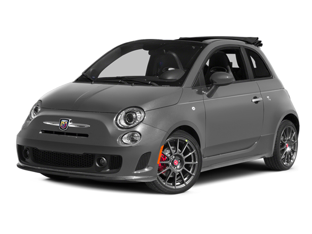 Grigio (Gray) 2013 FIAT 500 Pictures 500 Convertible 2D Abarth I4 photos front view