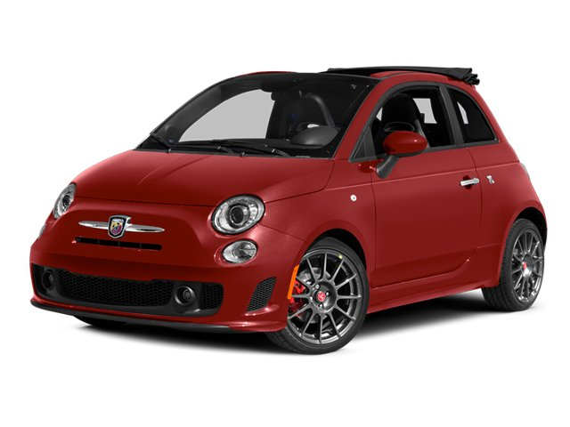 Rosso (Red) 2013 FIAT 500 Pictures 500 Convertible 2D Abarth I4 photos front view
