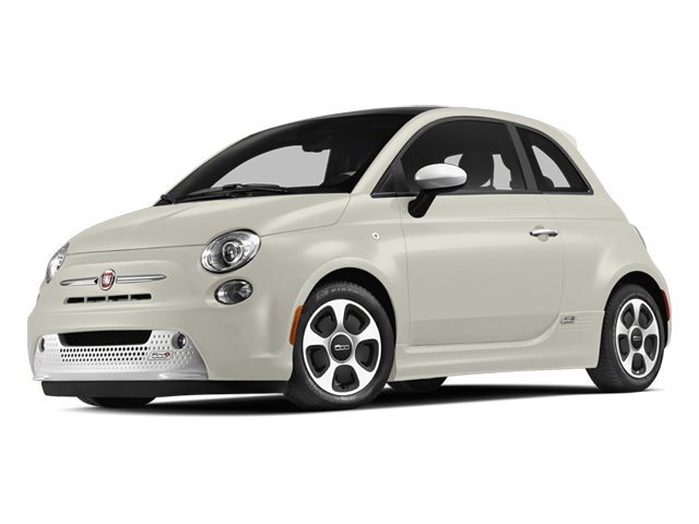 Bianco Perla (Pearl White Tri-Coat) 2013 FIAT 500e BATTERY ELECTRIC Pictures 500e BATTERY ELECTRIC Hatchback 3D 500e Electric photos front view
