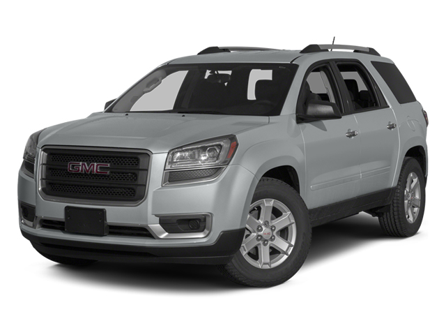 Quicksilver Metallic 2013 GMC Acadia Pictures Acadia Utility 4D SLT2 AWD photos front view
