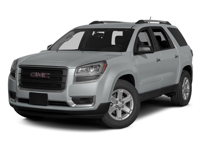 Quicksilver Metallic 2013 GMC Acadia Pictures Acadia Utility 4D SLE2 2WD photos front view