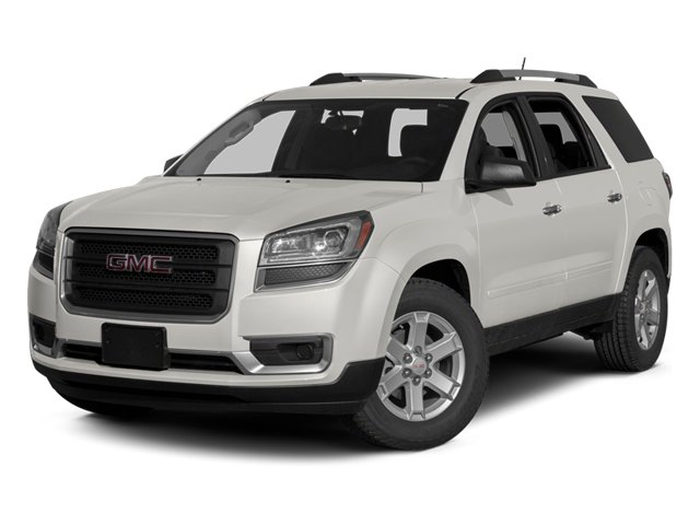 Summit White 2013 GMC Acadia Pictures Acadia Utility 4D SLT2 AWD photos front view