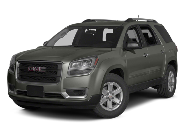Cyber Gray Metallic 2013 GMC Acadia Pictures Acadia Utility 4D SLT2 AWD photos front view