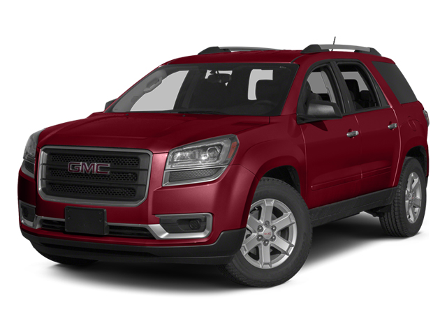 Crystal Red Tintcoat 2013 GMC Acadia Pictures Acadia Utility 4D SLT2 AWD photos front view