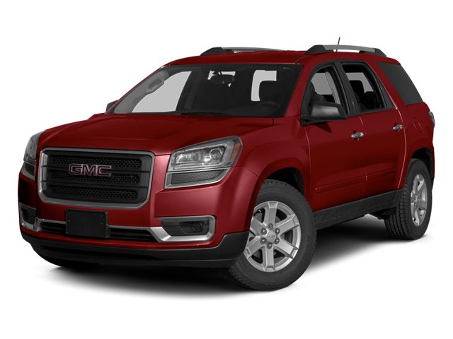 Crystal Red Tintcoat 2013 GMC Acadia Pictures Acadia Utility 4D SLE2 2WD photos front view