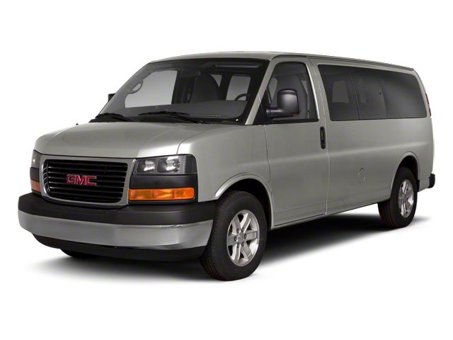 Steel Gray Metallic 2013 GMC Savana Passenger Pictures Savana Passenger Savana LT 135 photos front view