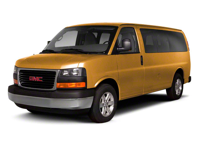 Wheatland Yellow 2013 GMC Savana Passenger Pictures Savana Passenger Savana LT 135 photos front view