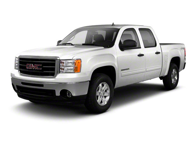 Quicksilver Metallic 2013 GMC Sierra 1500 Pictures Sierra 1500 Crew Cab SLE 2WD photos front view