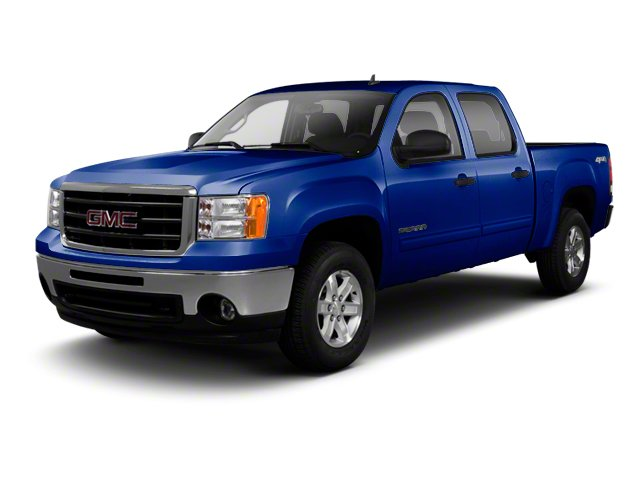 Heritage Blue Metallic 2013 GMC Sierra 1500 Pictures Sierra 1500 Crew Cab SLE 2WD photos front view