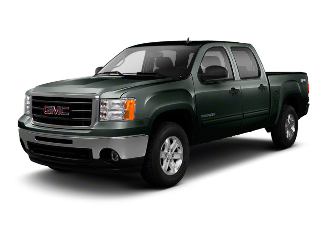 Mineral Green Metallic 2013 GMC Sierra 1500 Pictures Sierra 1500 Crew Cab SLE 2WD photos front view
