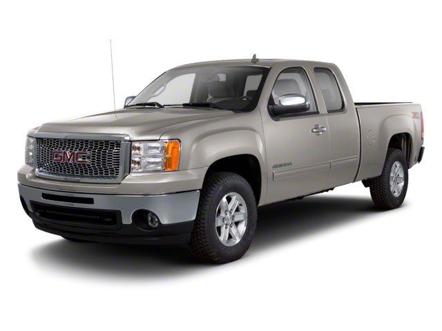 Steel Gray Metallic 2013 GMC Sierra 1500 Pictures Sierra 1500 Extended Cab SLE 4WD photos front view