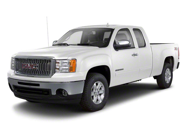 Summit White 2013 GMC Sierra 1500 Pictures Sierra 1500 Extended Cab SLE 4WD photos front view